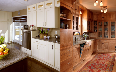 Ideas for Integrating Dishwashers into Kitchen Decor Picture