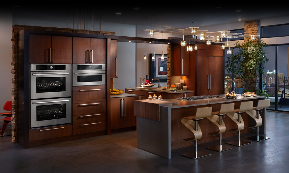 Modern kitchen design ideas with incorporated appliances for Luxury oven