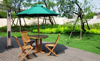 How to Design a Relaxation Space in the Back Garden with Patio Infrared Heaters