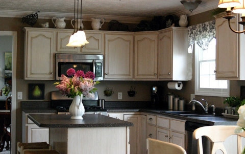Ideas for Decorating the Top of Kitchen Cabinets Picture