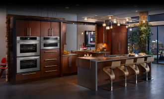 Modern Kitchen Design Ideas with Incorporated Appliances and Hidden Water Filters