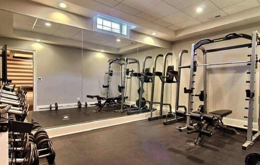 Home Exercise Room Design Layout